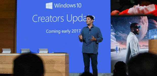 Windows 10 Creators Update arriva l'11 aprile (il 5 con AA)