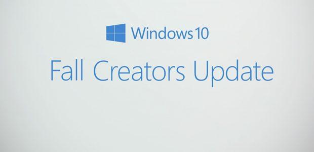 Windows 10 – Disponibile il Fall Creators Update