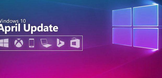 Windows 10 – L'aggiornamento cumulativo si chiama April 2018 Update ed è già disponibile