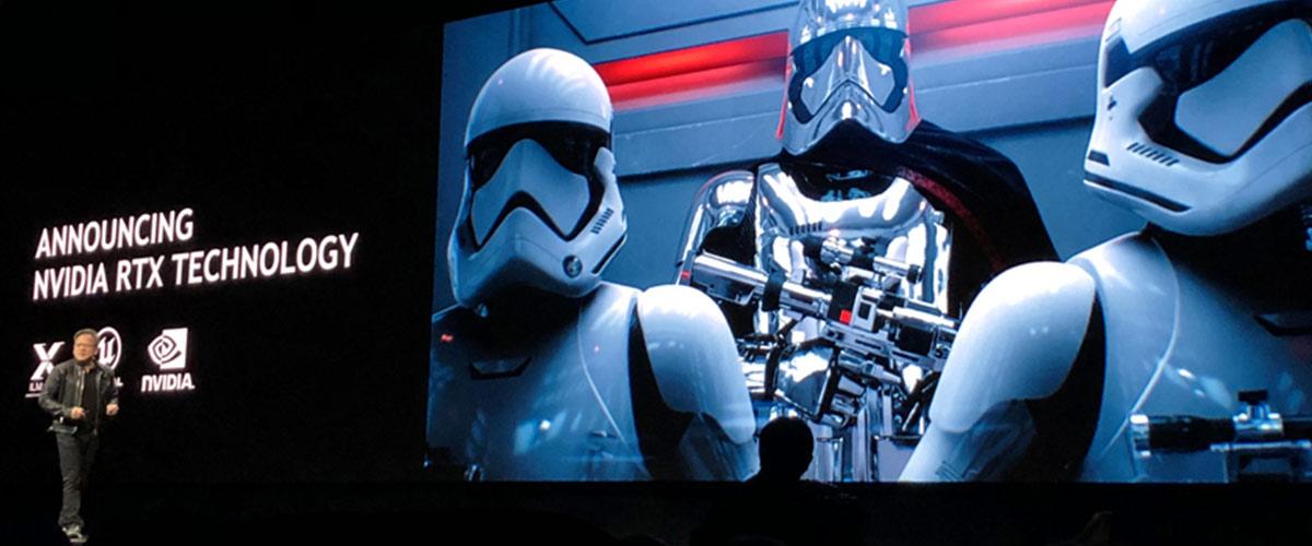 NVIDIA – il Ray Tracing al Keynote (Gamescom 2018)